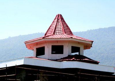 پوشش سقف شیبدار