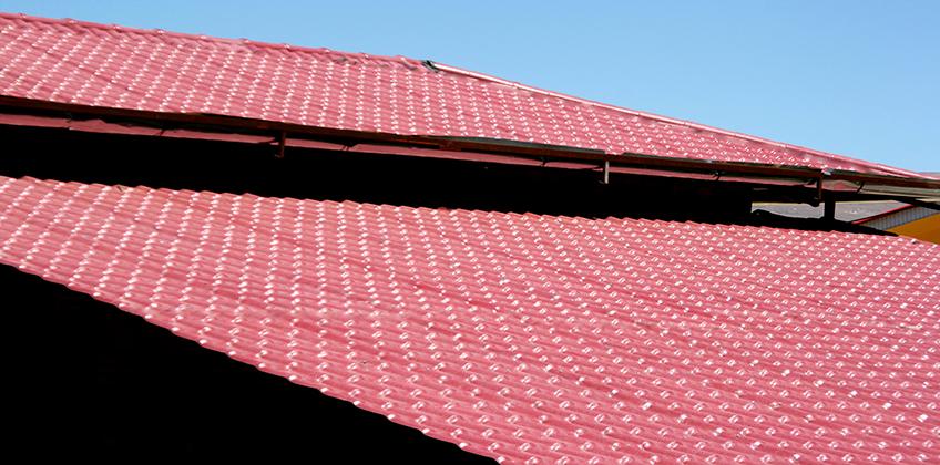 پوشش سقفی آکروتایل